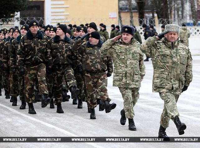 Во внутренних войсках началась плановая отработка программы обучения