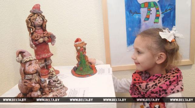 Выставка творческих работ учащихся детских школ искусств открылась в Могилеве