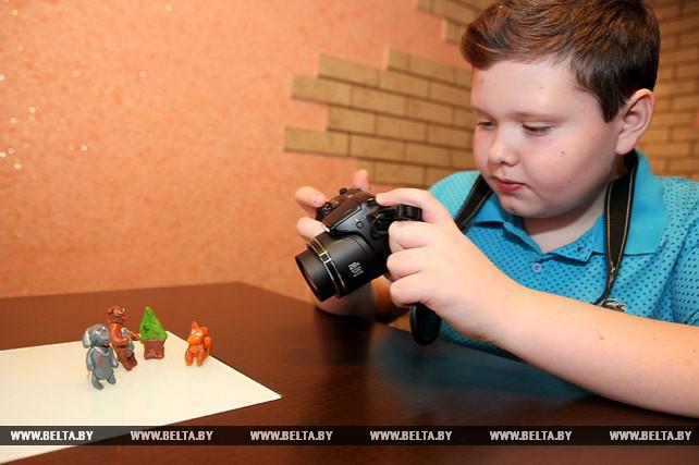 Пластилиновые мультфильмы создает витебский школьник Никита Ильин