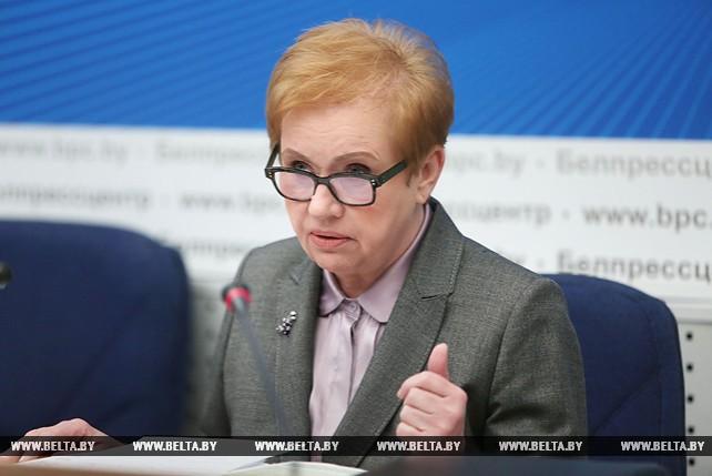 Лидия Ермошина провела пресс-конференцию