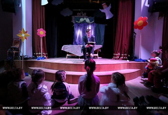 """В Минске проходит рождественский фестиваль батлеечных и кукольных театров """"Нябёсы"""""""