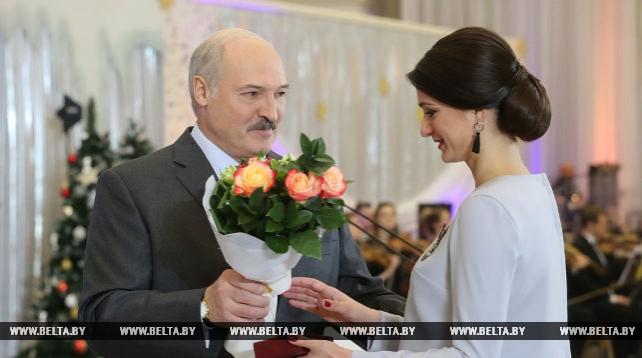 Лукашенко провел прием на старый Новый год