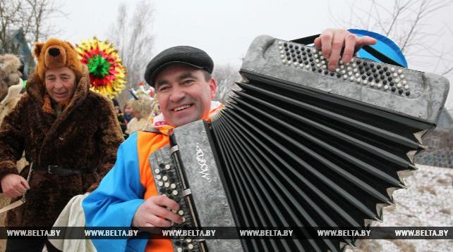 """""""Колядный разгуляй"""" прошел в Полоцком районе"""