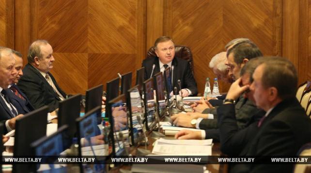 Заседание Президиума Совета Министров состоялось 16 января
