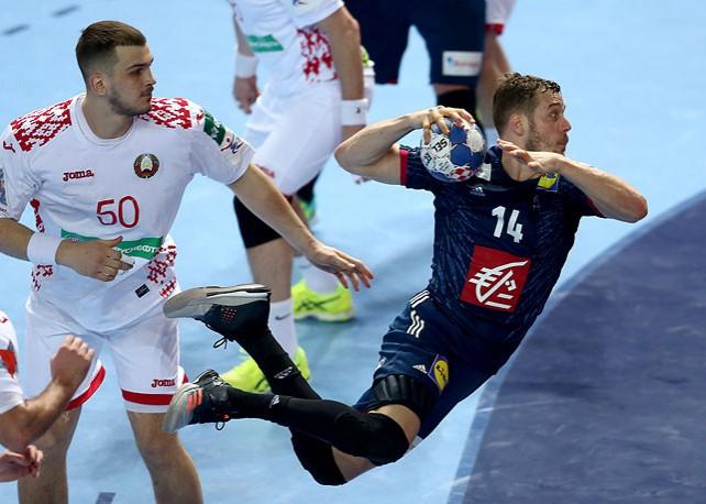 Белорусские гандболисты пробились во второй этап чемпионата Европы
