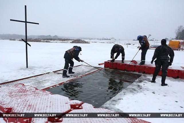 В Гродненской области окунуться на Крещение можно будет в 8 специально оборудованных местах