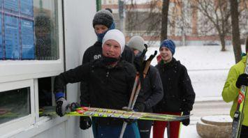 Лыжная трасса организована в Минске для всех любителей катаний