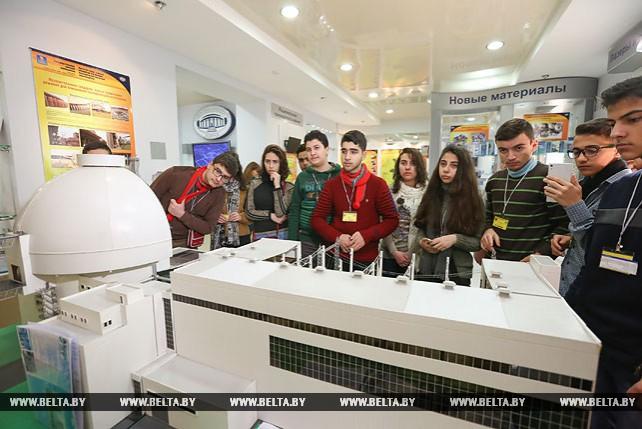 Сирийские школьники посетили Национальную академию наук Беларуси