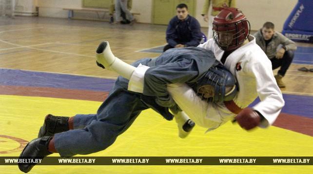 Чемпионат по армейскому рукопашному бою прошел в Витебске