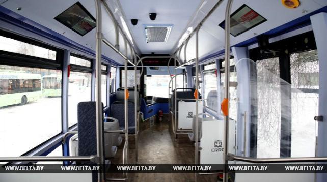 Подаренные Могилеву китайской провинцией Хунань электробусы вышли в первый рейс