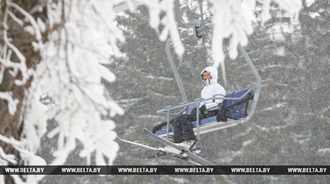 """Зимний сезон в горнолыжном комплексе """"Логойск"""""""