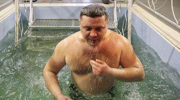 Военнослужащие и сотрудники органов внутренних дел отпраздновали Крещение в Витебске