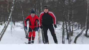Ко Всемирному дню снега в Минске заработала лыжная трасса