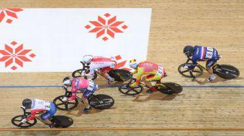 Этап Кубка мира по велотреку проходит в Минске