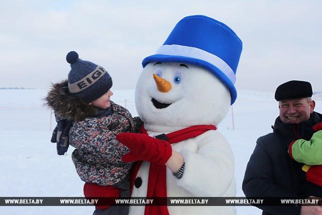 """Международный день снега отметили в """"Коробчицком Олимпе"""""""