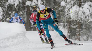 Француз Мартен Фуркад победил в масс-старте на этапе Кубка мира по биатлону в Антхольце