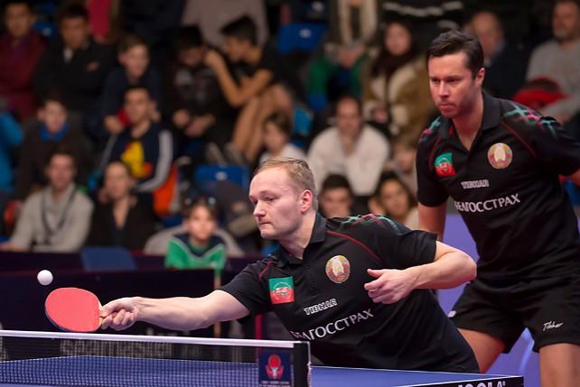 Самсонов и Платонов заняли 2-е место на открытом чемпионате Венгрии по настольному теннису