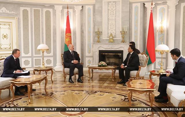 Лукашенко встретился с Чрезвычайным и Полномочным Послом Исламской Республики Пакистан Масудом Ханом Раджой