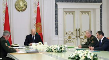 Лукашенко поставил задачи по совершенствованию системы пограничной безопасности Беларуси
