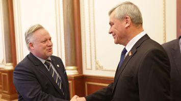 Андрейченко встретился со специальным представителем ПА ОБСЕ по Восточной Европе, главой делегации шведского парламента в ассамблее Кентом Харстедом