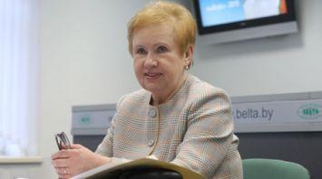 Онлайн-конференция с председателем ЦИК Лидией Ермошиной прошла на сайте БЕЛТА