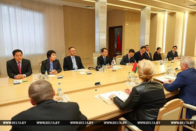 В Совете Республики прошла встреча с парламентской делегацией Республики Корея