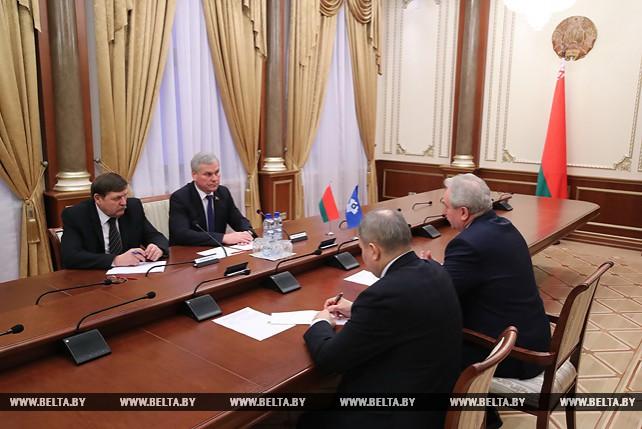 Андрейченко встретился с главой Секретариата Совета МПА СНГ
