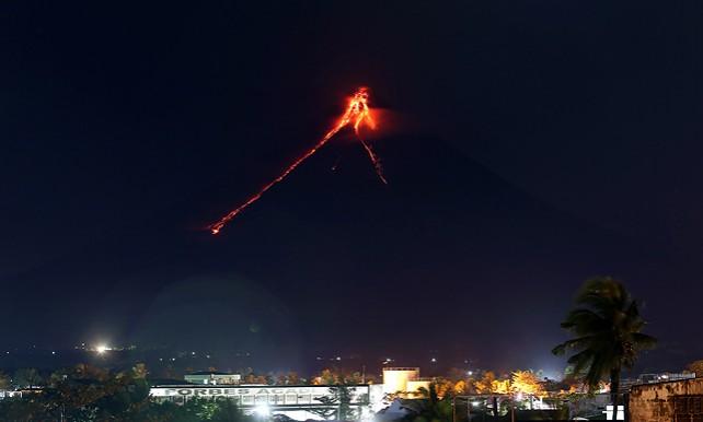На Филиппинах произошло извержение вулкана