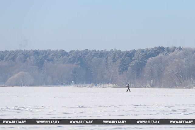 Минское море зимой
