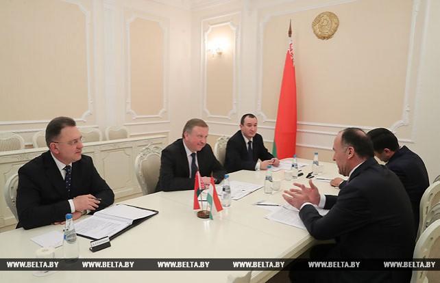 Кобяков встретился с послом Таджикистана