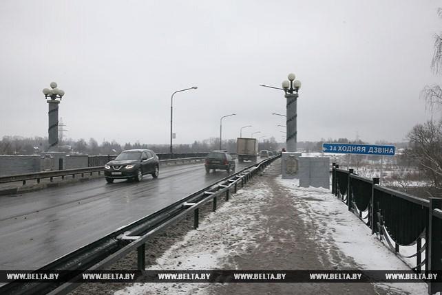 В Новополоцке на мосту через Западную Двину установили видеонаблюдение