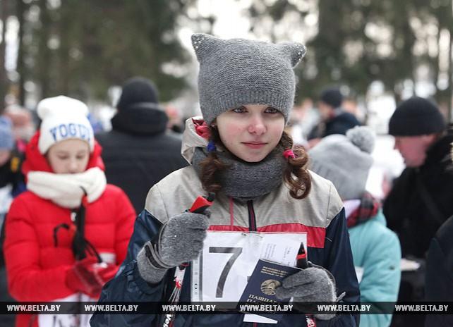 """Городской этап соревнований """"Снежный снайпер"""" проходит в Могилеве"""