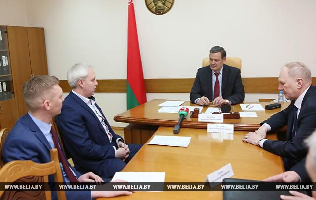 Калинин провел прием граждан в Гродненском облисполкоме