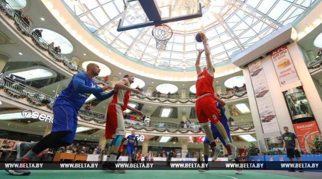 Тестовый турнир по баскетболу 3x3 к Евроиграм-2019 проходит в Минске