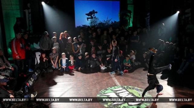 8-й открытый чемпионат Беларуси по брейк-дансу прошел в Минске