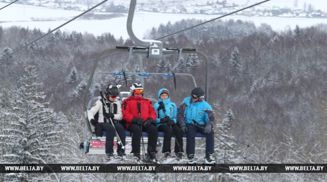"""Горнолыжный центр """"Силичи"""" - одно из самых популярных в Беларуси мест зимнего отдыха"""