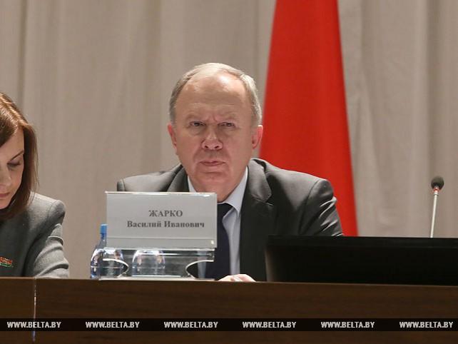 Василий Жарко выступил на итоговом заседании коллегии Министерства образования