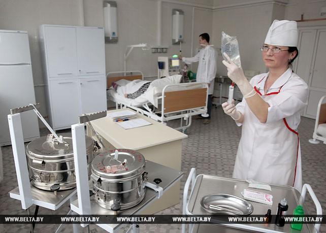 Лечебный корпус Оршанской городской больницы имени Семашко начал принимать пациентов