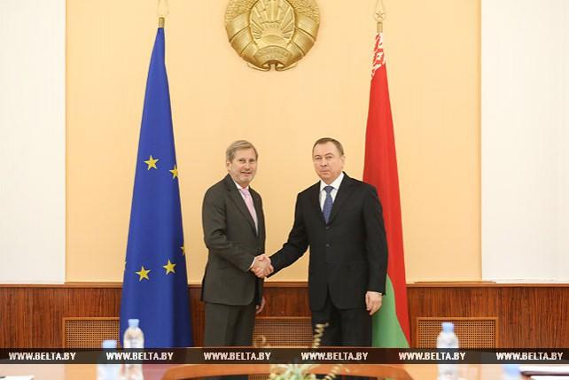 Актуальные вопросы взаимодействия Беларуси и ЕС обсуждают Макей и Хан
