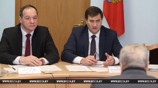 Рыженков провел личный прием граждан в Осиповичах