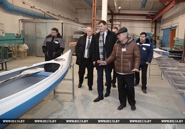 Рыженков посетил Осиповичский завод автомобильных агрегатов