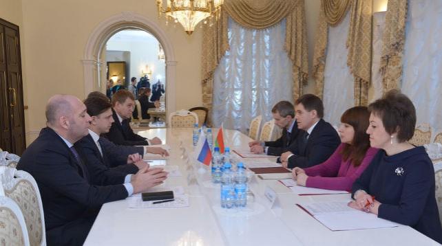 Орловская область намерена в ближайшей перспективе удвоить товарооборот с Беларусью