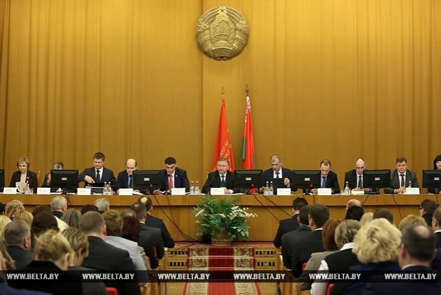 Кобяков принял участие в коллегии МНС