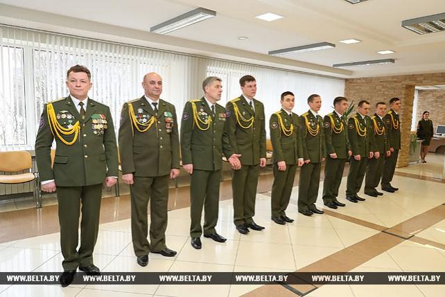 Белорусские спасатели награждены медалями Грузии