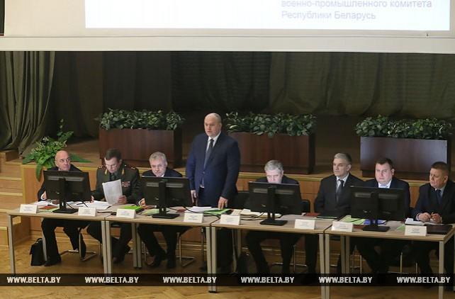 Заседание коллегии Госкомвоенпрома, во время которого обсуждались итоги 2017 года и планы на 2018-й, состоялось 31 января