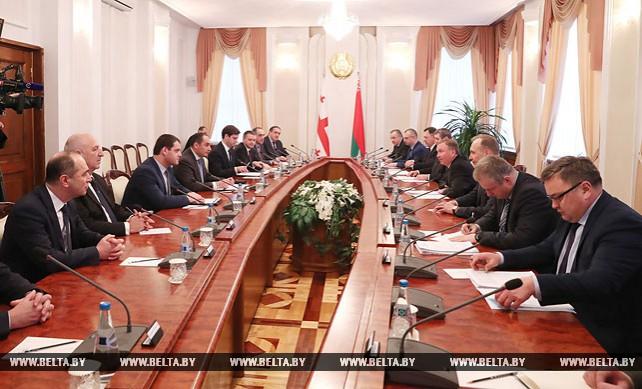 Кобяков встретился с первым вице-премьер-министром Грузии