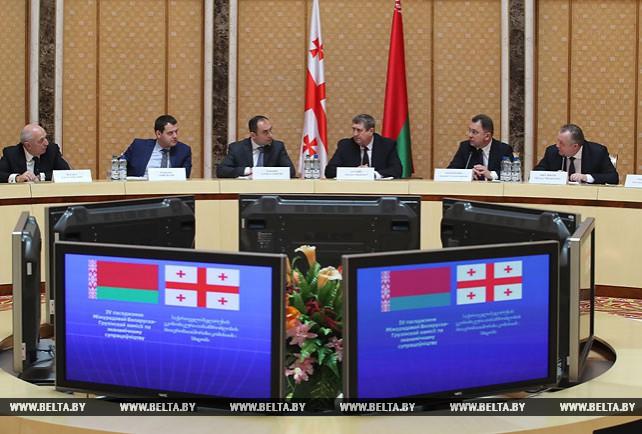 Заседание межправительственной белорусско-грузинской комиссии по экономическому сотрудничеству