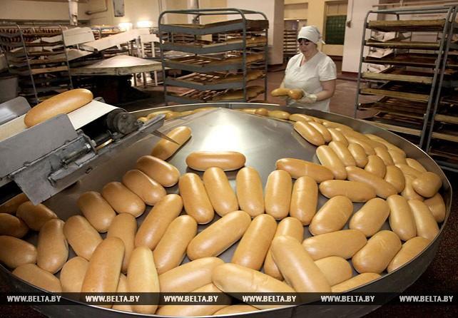 Около 10 т хлебобулочных изделий выпускаются на новой линии на Оршанском хлебозаводе