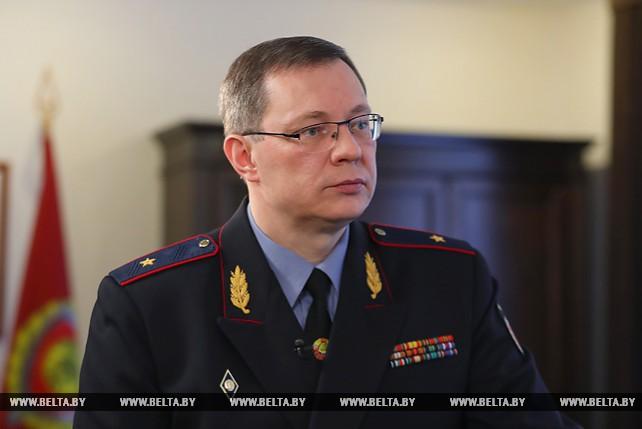 Андрей Швед дал интервью журналистам по итогам доклада у Президента