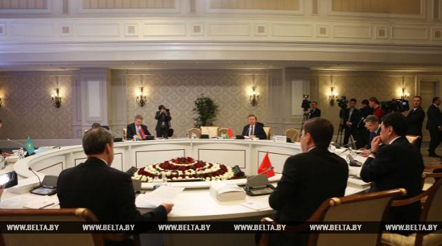 Заседание Евразийского межправсовета в узком составе